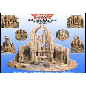 BOXED SET - Ruines d église romane-